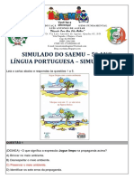 135748750 Simulado 5º Ano Lingua Portuguesa Simulacao 11 Gabaritado