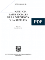 Moore Barrington - La Injusticia - Bases Sociales de La Obediencia Y La Rebelion