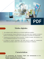 Historia de Los Medios Digitales - Pedro Peña H.