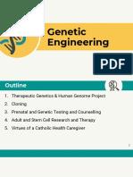 MedEthics Genetic Engineering Report