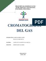 Cromatografia de Gas Final