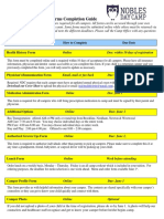 Camper Forms Completion Guide