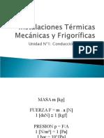 Instalaciones Térmicas Mecánicas y Frigoríficas_Unidad Nº1