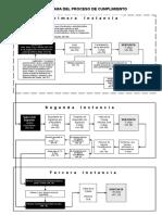 Flujograma Del Proceso de Cumplimiento