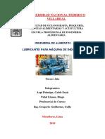 Lubricantes Para Maquinas de Industria