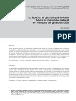 ALBA SERRANO La Ronda Patrimonio y Globalización