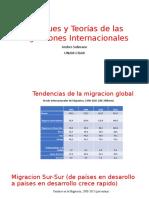 Enfoques y Teorias de Las Migraciones-Taller (Sesion 1) UNAM-Marzo 2018-Ppt
