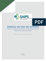 Manual de Uso Do Sistema Saips