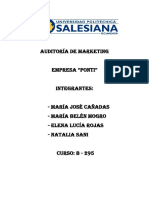 Auditoría de Marketing Matriz