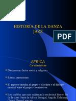 1. Historia de La Danza Jazz