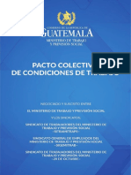 Pacto Colectivo MINTRAB