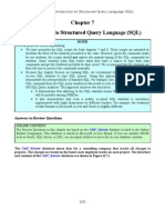 Dbms Solutions Chapter 7