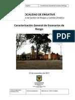 Identificación y Priorización de Escenarios de Riesgo Localidad Engativa