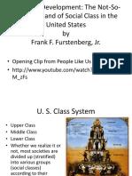 Diverging Development Class Matters Frank F. Furstenberg