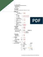 Design Calculation