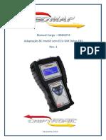 OBD0274 - Adaptação BC Imob5 com ECU GM Delco E83