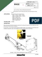 Psn Aa16089 Cracking at Fuel Tank Lower Frame Mount