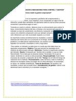ACTIVIDAD DE CONTEXTUALIZACIÓN 1 -  INDICADORES DE GESTION