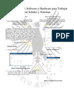 Herramientas de Software y Hardware para trabajar con señales y sistemas