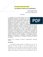 PLURALIDAD de SABERES Como Hacer Un Articulo Academico.