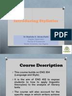 Introducing Stylistics 1