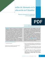 Huellas de Alemania en La Educación en Colombia