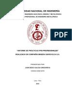 Informe de Practicas Uni-cmq v8.0