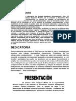 Presentacion y Dedicatoria