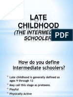 LATE CHILDHOOD intermediate schooler.pptx