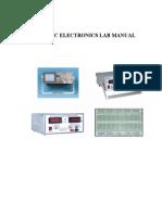 Basic Electroniclab Manual