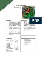 Ficha de Mantenimiento Del Limpialodos