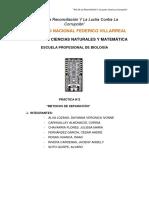 Informe quimica 2
