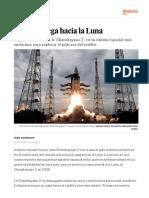 Chandrayaan 2- India Despega Hacia La Luna - Ciencia - EL PAÍS