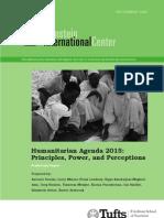 HA2015 Preliminary Report