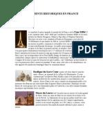 Monuments Historiques en France