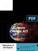 Climate Change Act of 2009