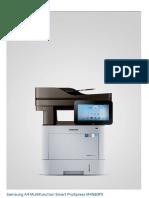 Catalogo de Caracteristicas Multifuncional Impresora Samsung 4580