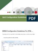 Ceragon QOS Configuration Guidlines