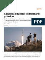 La Carrera Espacial de Los Millonarios Galácticos - Ciencia - EL PAÍS