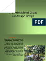 Principal of Landscape Design