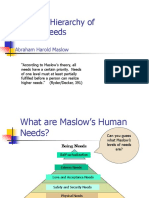 1.01 MaslowÆs Hierarchy of Needs-2.ppt