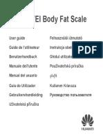 Users Manual Huawei Scale