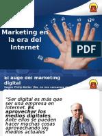 Marketing en La Era Del Internet