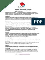 Communistic Development Principles 2019