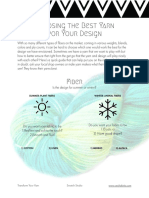 Choosing the Best Yarn for Your Design
