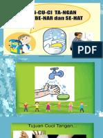 Presentasi Materi Kesehatan Cuci Tangan