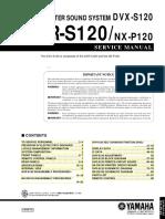 Yamaha DVR-S120 - DVD Receiver