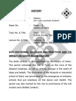 Sufi Doctrines