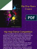 Hip Hop Dance Contest
