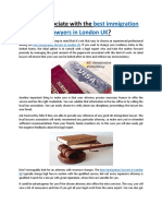 How to Associate With the Best Immigration Lawyers in London UK